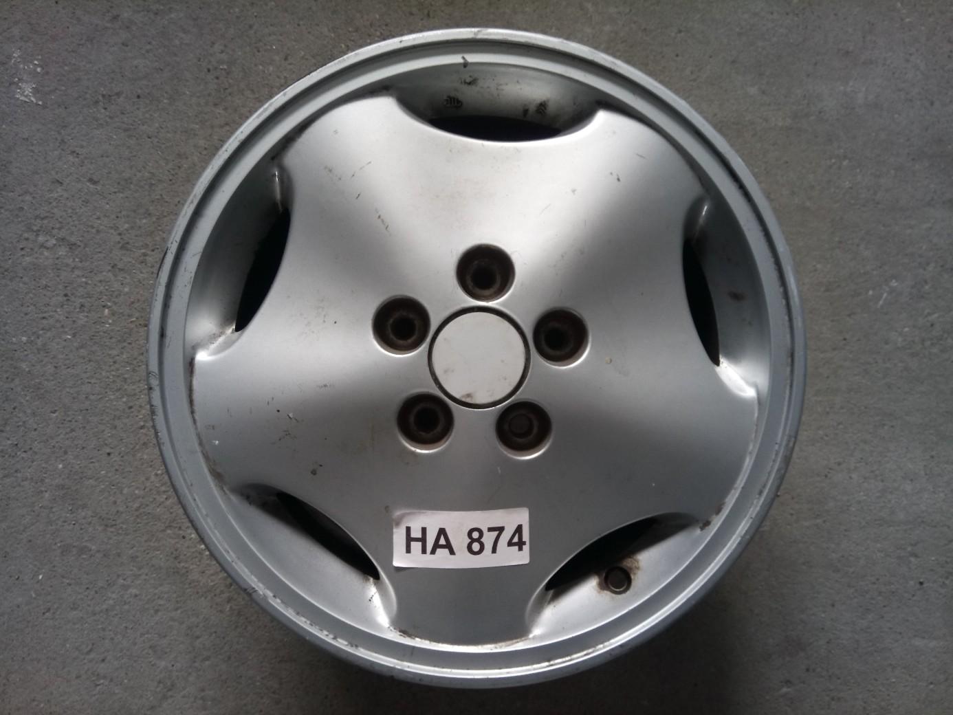 5X98 6X15 ET43 58.1 HA874 CITROEN Gyári használt aluf.