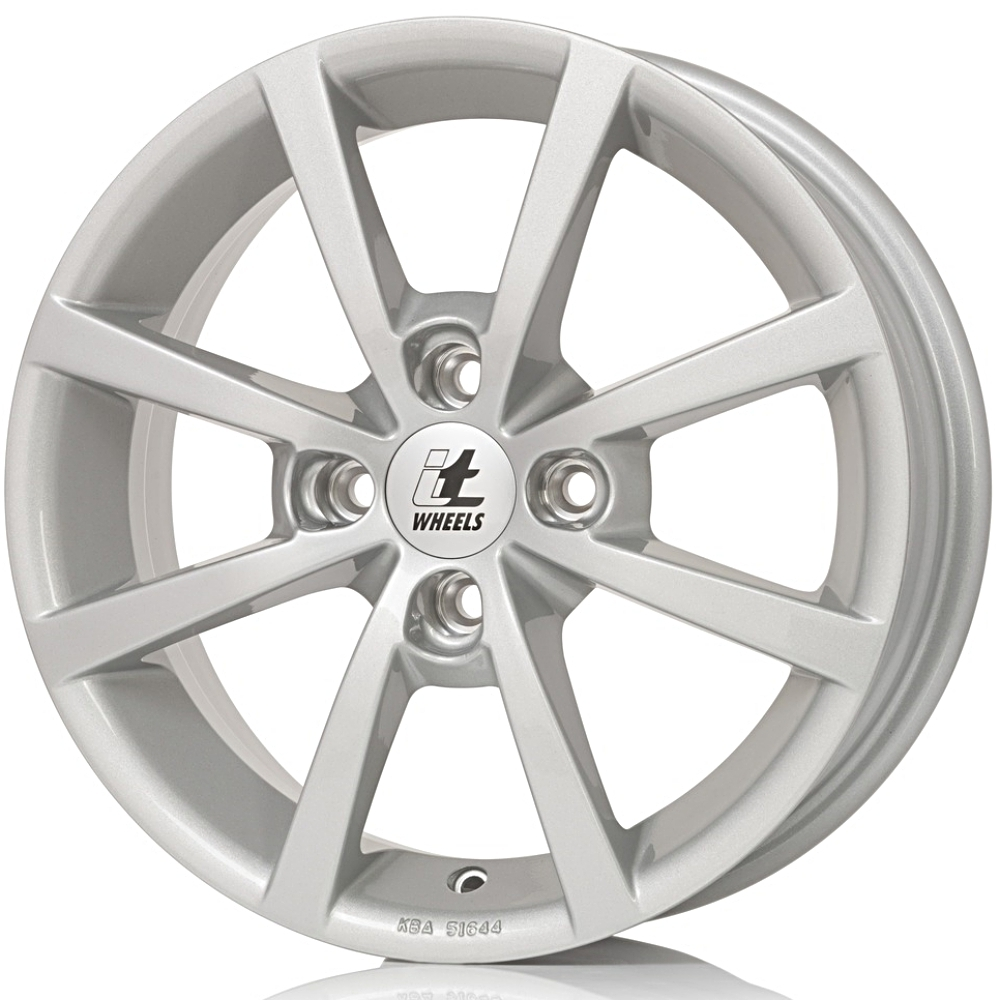 IT Wheels 4X108 6.5X16 ET26 65.1 ALISIA Silver