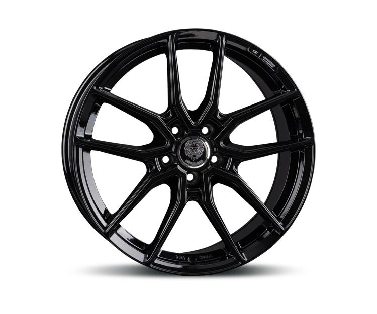 Königsräder 5X114.3 7.5X17 ET40 72.6 KR1_Gloss Black