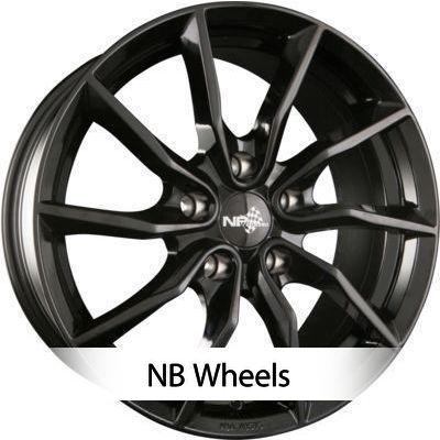 NB Wheels 5X114.3 8.5X18 ET50 72.6 NB1_Black