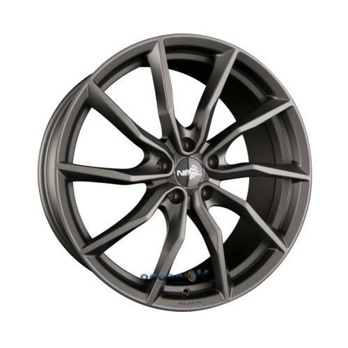 NB Wheels 5X114.3 8X17 ET40 72.6 NB1_DARK_MATT_GUNMETAL