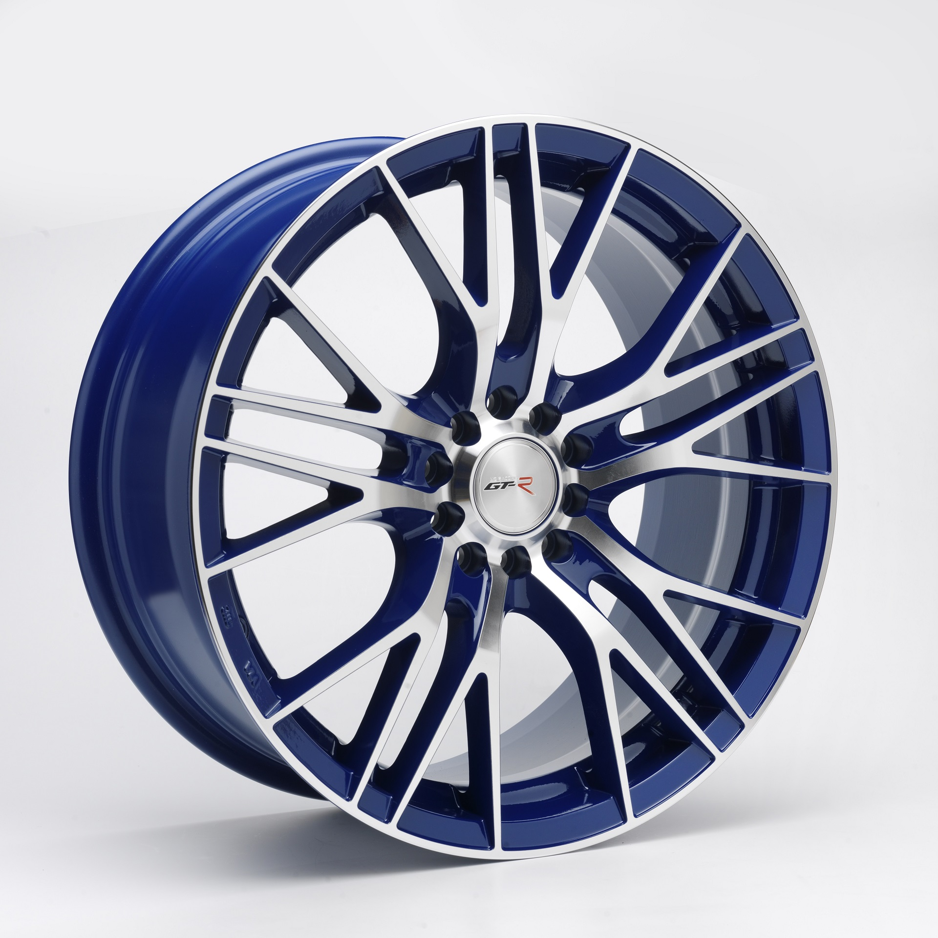 GT-R 5X114.3 6.5X15 ET38 73.1 TOP BLUE