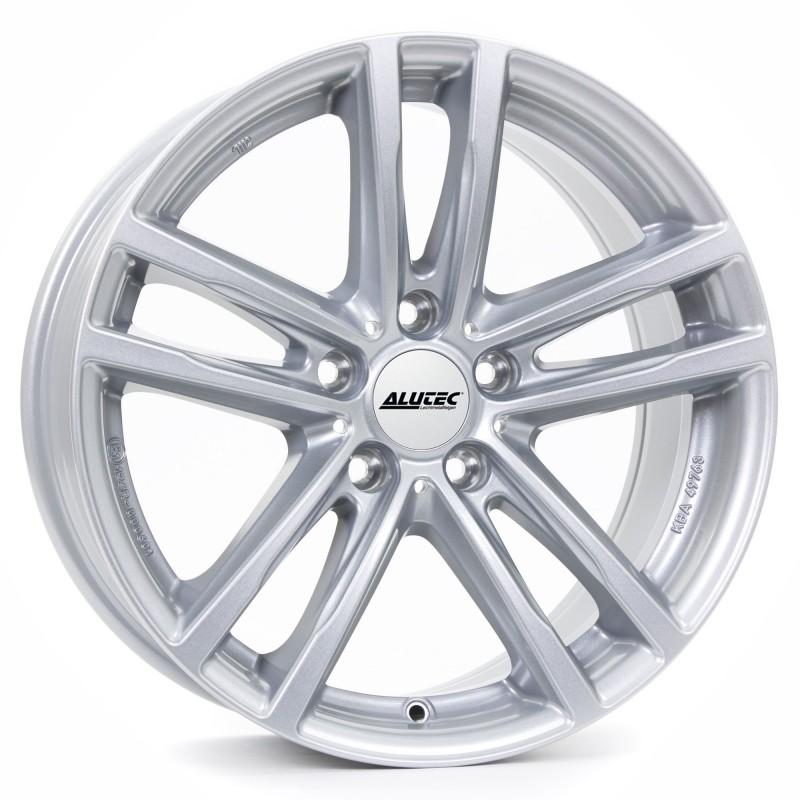Alutec 5X112 5X19 ET43 66.6 X10_Silver