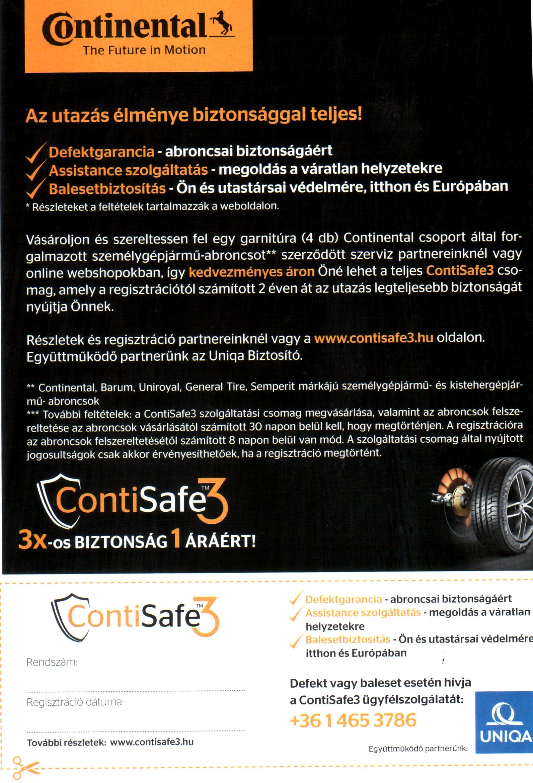 ContiSafe3 szórólap 2. oldal